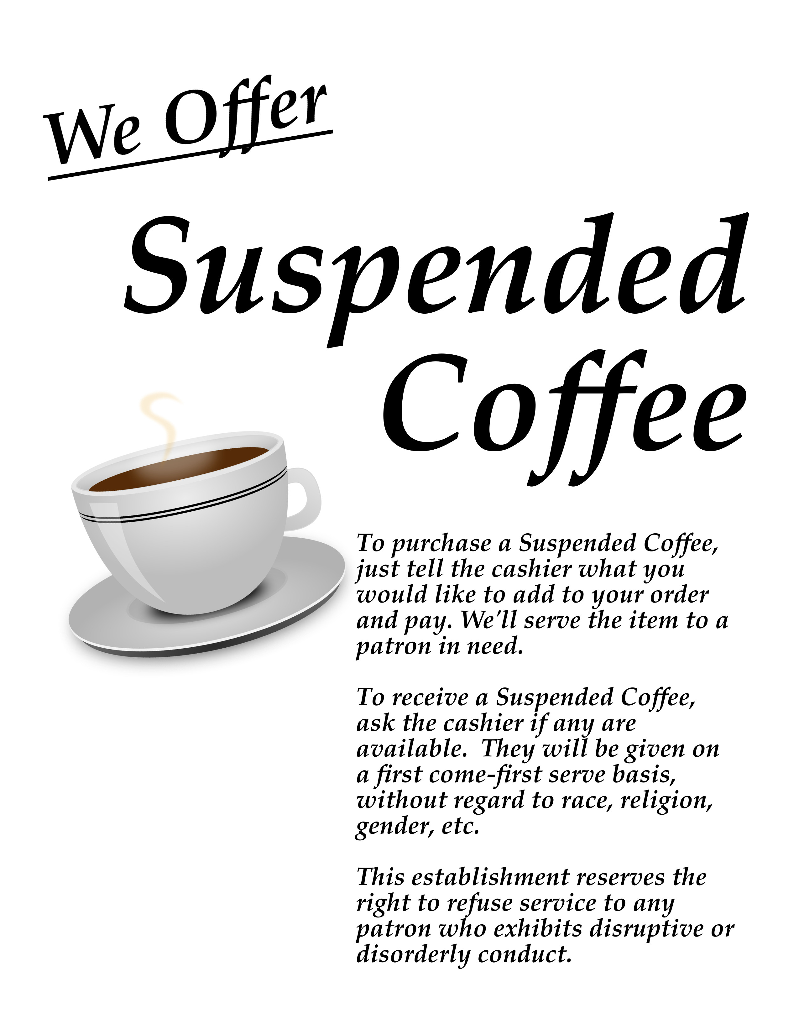 resources for businesses this work suspended coffee business flyer is of known copyright restrictions